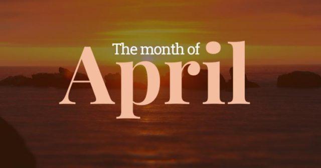 April Gospel News